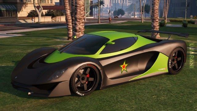 Kilka fotek z GTA 5 online ''5 aut z kolekcji''