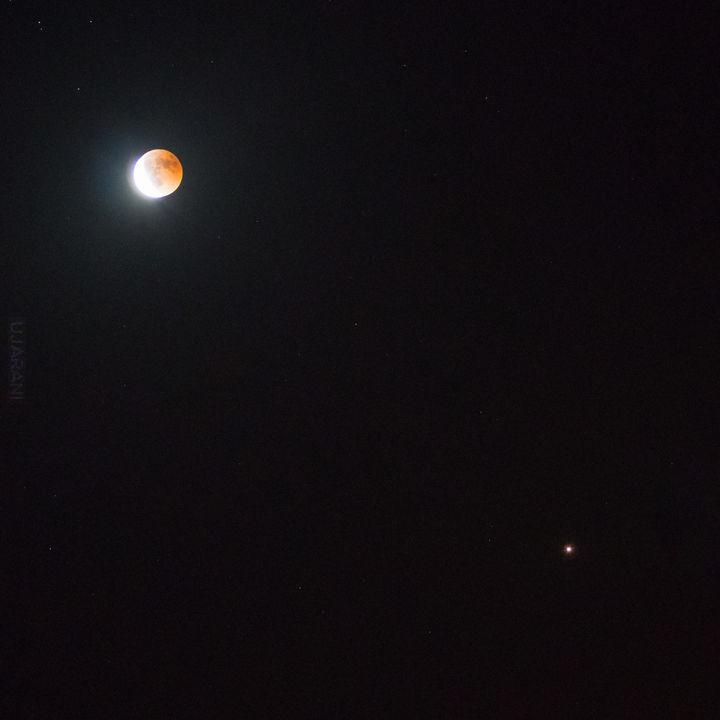 Księżyc + Mars