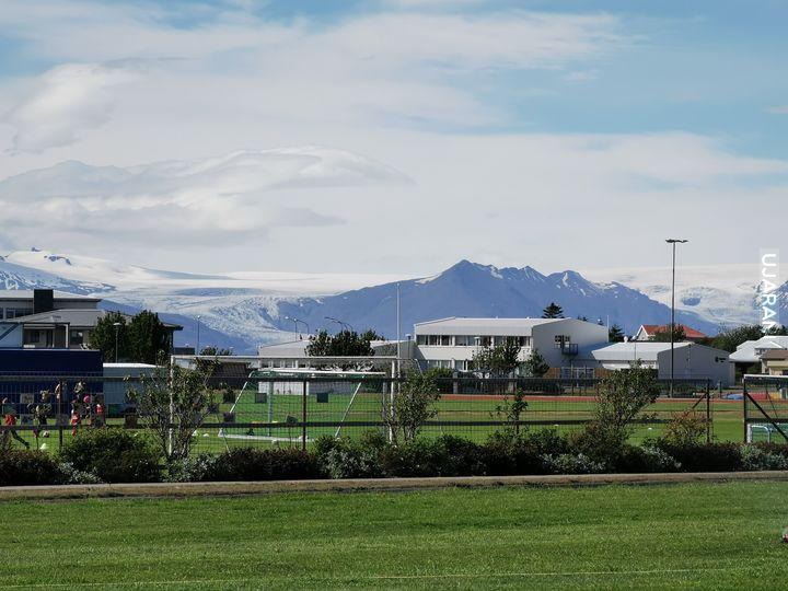 Z serii: widoki w pracy, Islandia