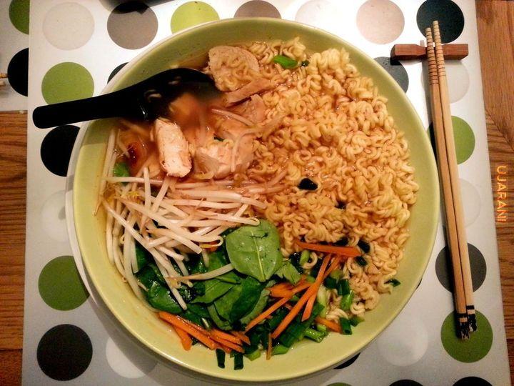 Ramen - niedzielny obiadzik