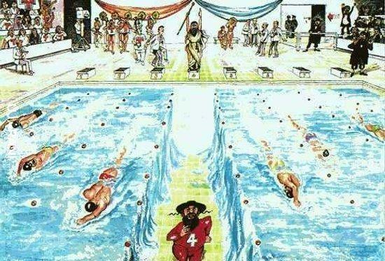 """Izraelski """"pływak"""""""