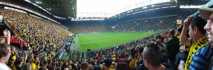 Taki tam panorama stadionowa #własne