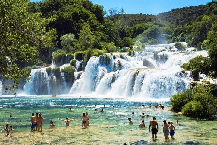 Raj ? Możliwe, Wodospad Krka, Chorwacja.