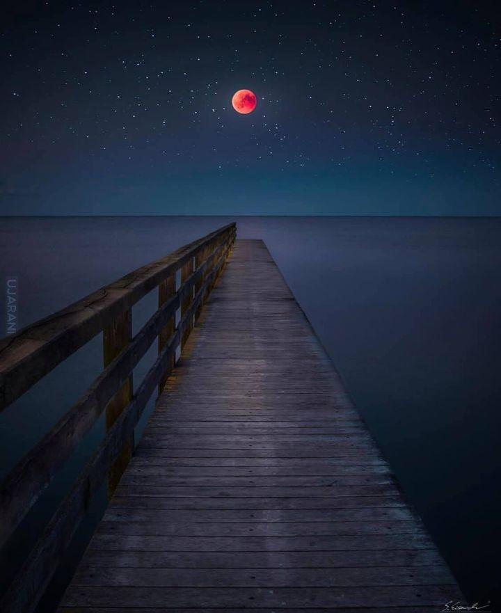 Super krwawy księżyc
