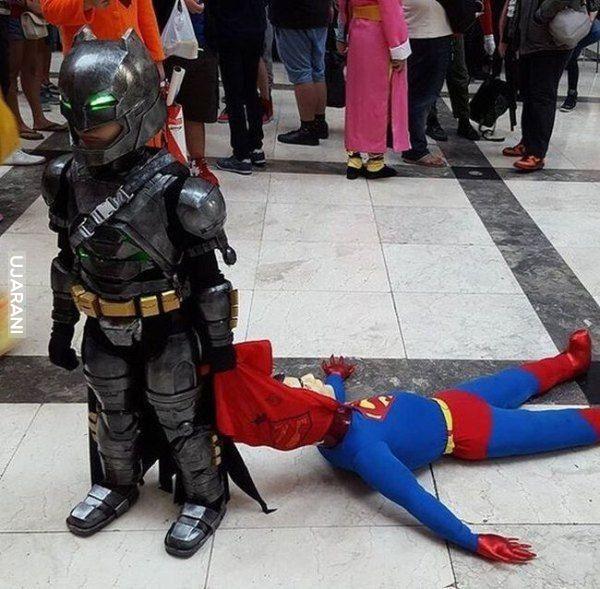 Batman v superman.;P