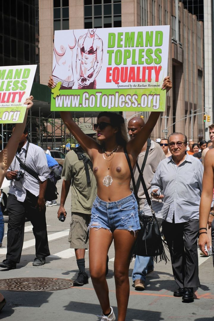 Go Topless Day - NYC