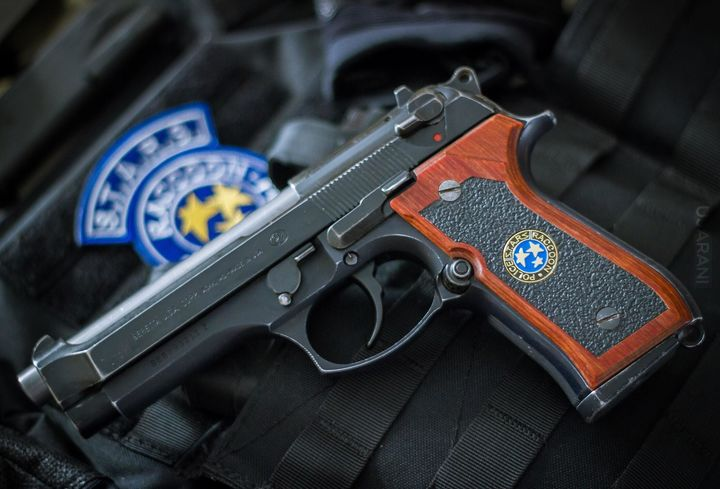 Beretta 92FS/S.T.A.R.S Samurai Edge