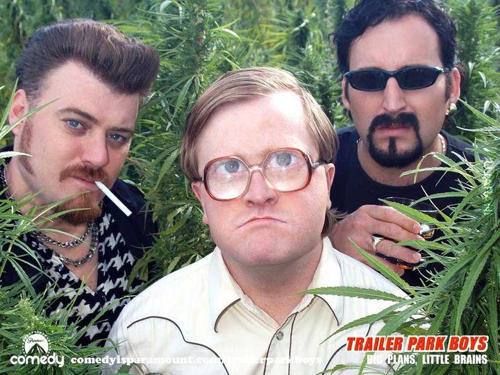 Teraz ja coś zarzuce, dla odmiany serial. Trailer Park Boys - Chłopaki z Baraków.