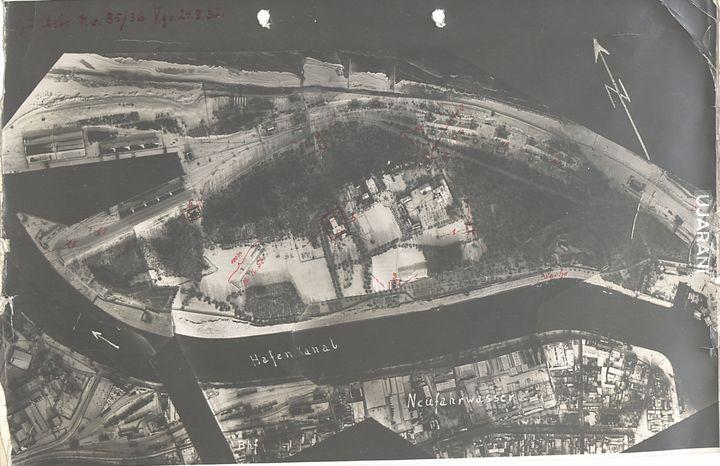 Niemieckie zdjęcie szpiegowskie, Westerplatte 1936 rok