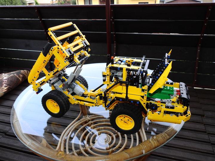 Lego wywrotka