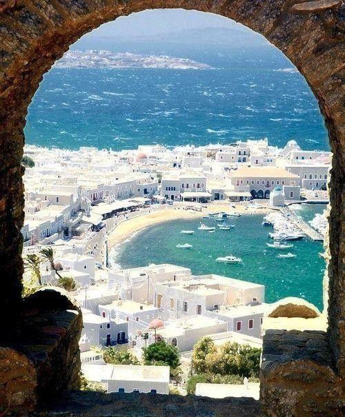 Mykonos, Grecja.