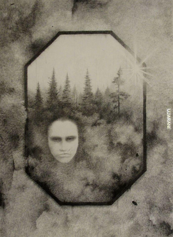 Caputo Effect. Co pojawia się w lustrze?