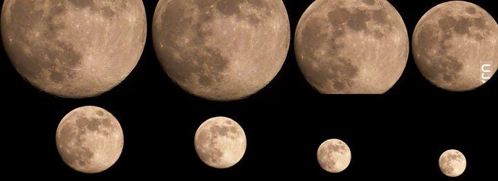 Księżyc w innej formie niż zwykle