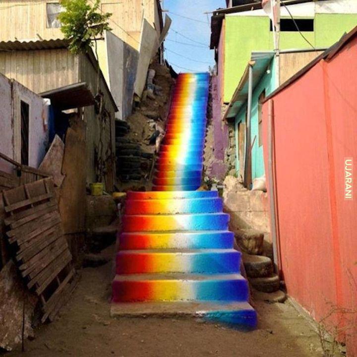 Tu się zaczynają schody