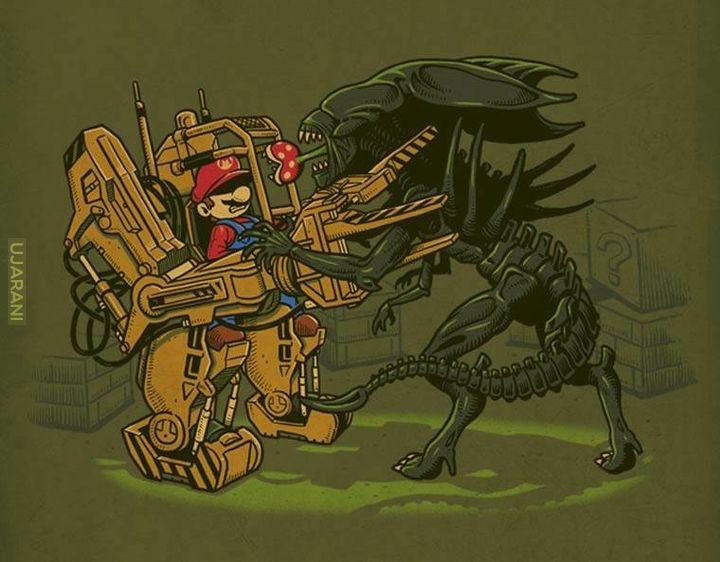 Alien - fan art (dzieła wybrane)