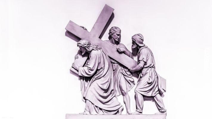 Pomogę ci, nieść Twój krzyż..
