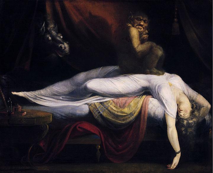 Nocna mara (1781 rok; olej na płótnie)