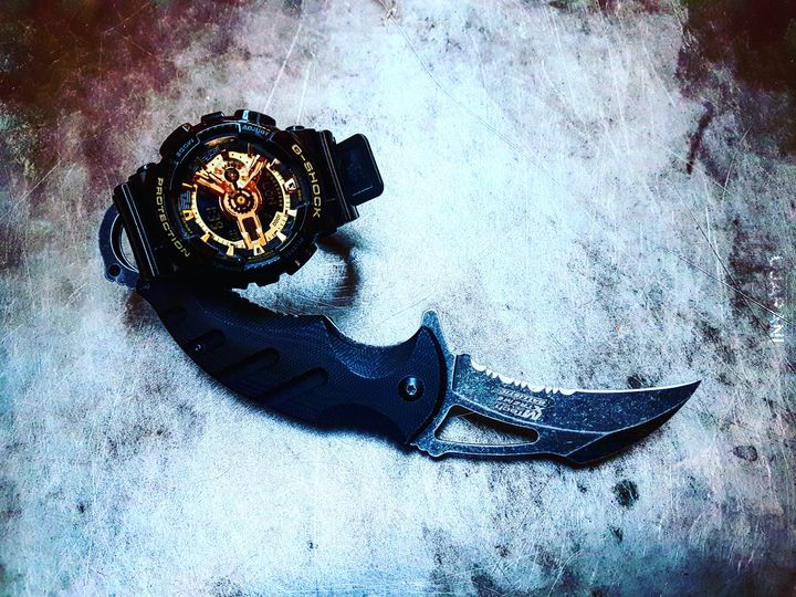 Karambit + G-watch :)