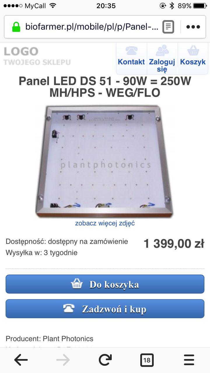 Plantphotonic Led 90w