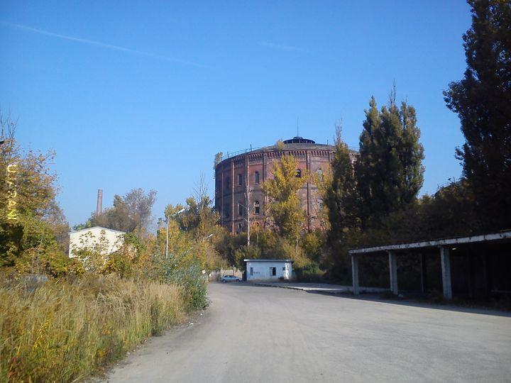 Opuszczona gazownia w Warszawie