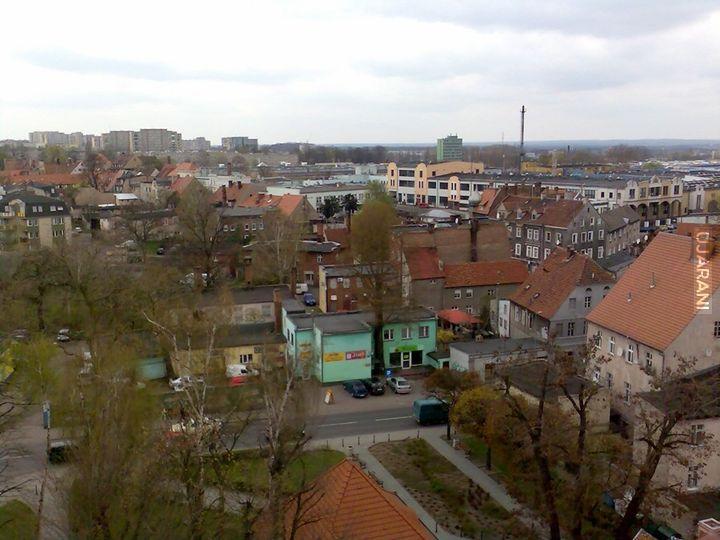 Zielona Góra - z dachu