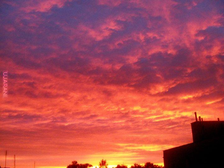 Kolory zachodu słońca