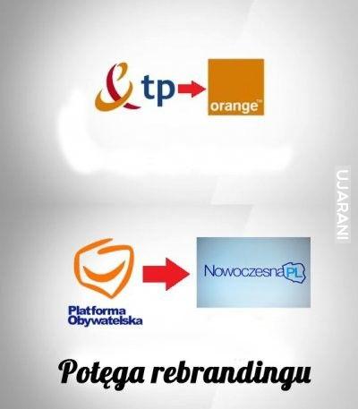 POtęga Rebrandingu