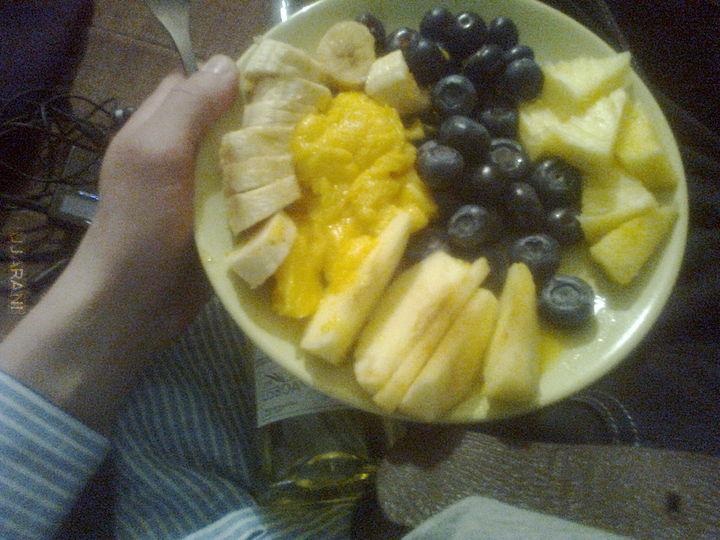 Miks owoców :D