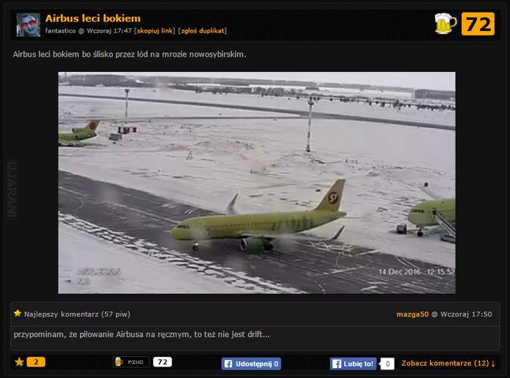 Burak w Airbusie :D