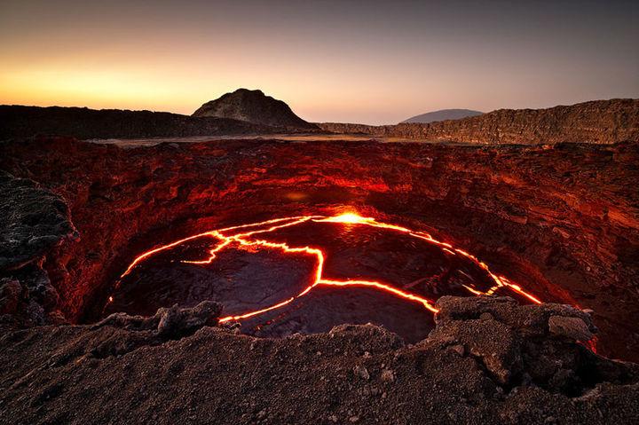 Wulkan Erta Ale, Etiopia
