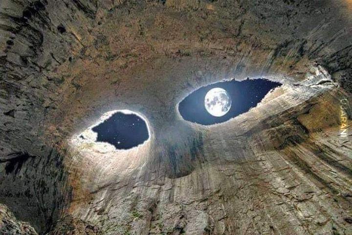 Jaskinia Oczy Boga