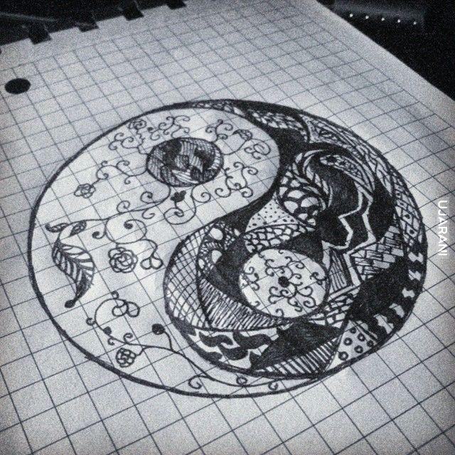 yin yang (nuda na wykładach)