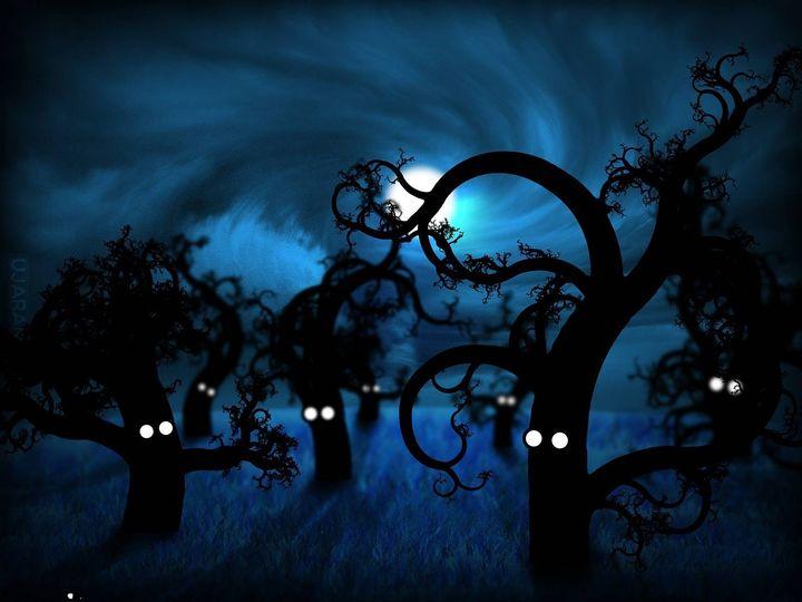 Szepty i dziwny las