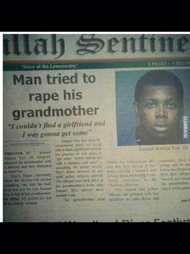 gwałt na babci