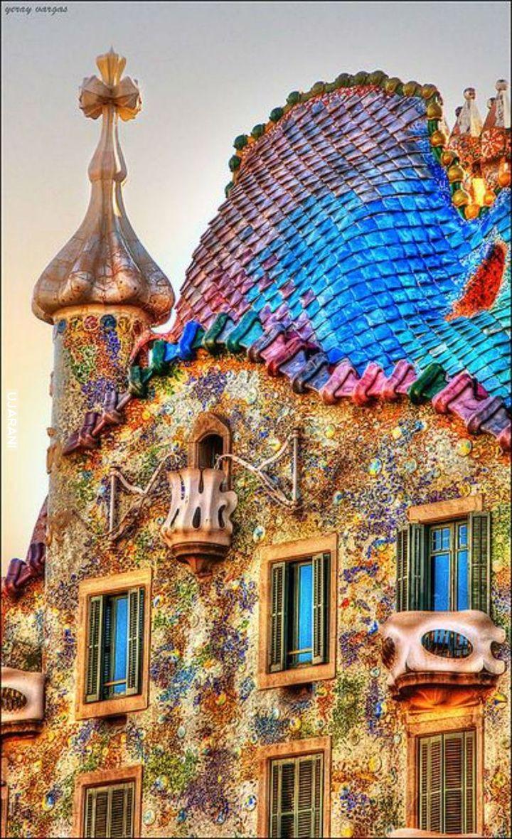 Casa Batlló, Gaudi Barcelona