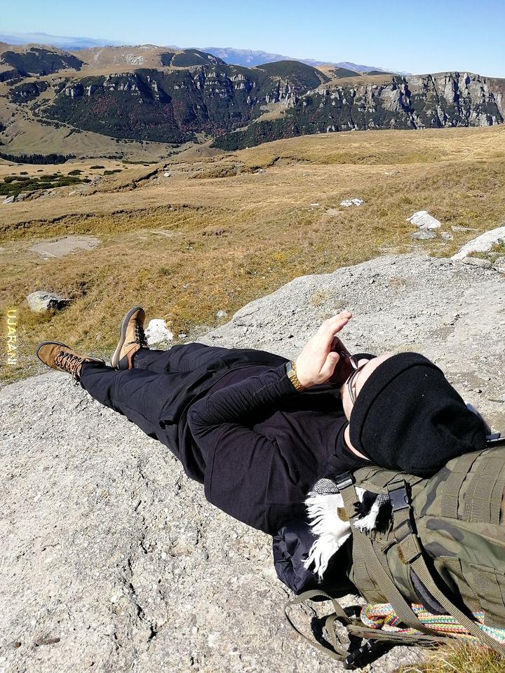Wiejo wiatry w górach aż odpalić ciężko