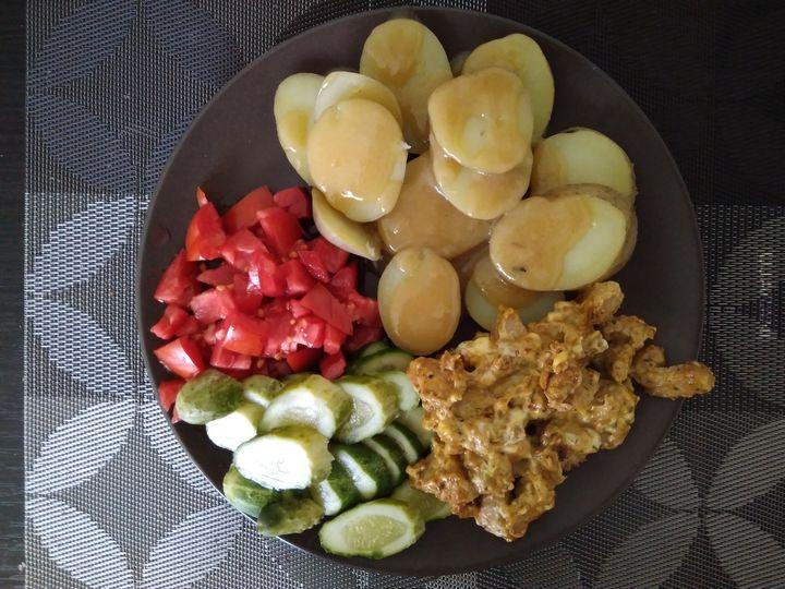 Domowy obiad.