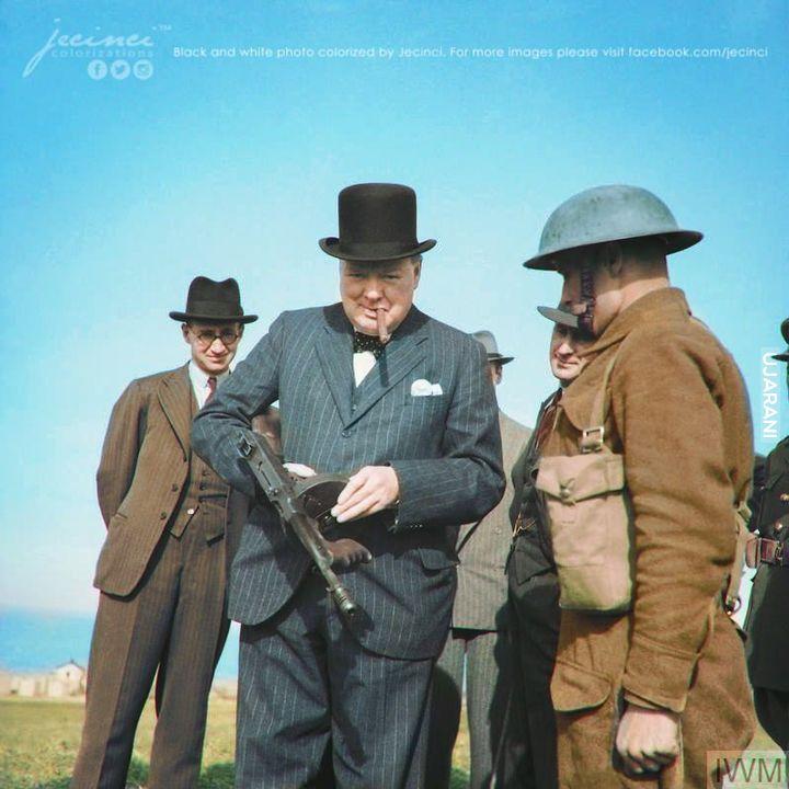 Winston Churchill, 1940