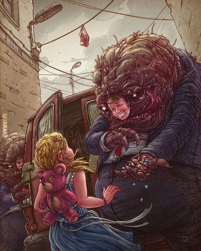 Ilustracje -Michał Dziekan
