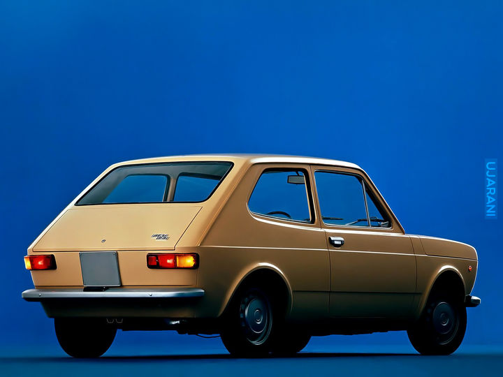 Fiat 127 Concept by David Obendorfer