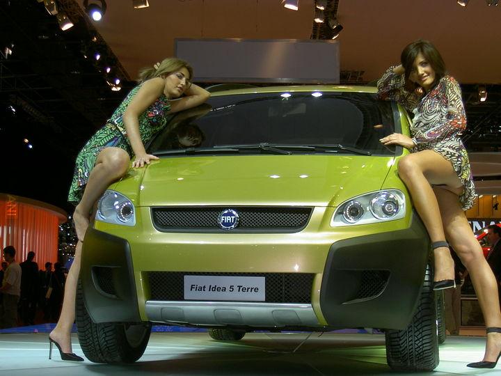 Fiat Idea 5 Terre - dobrze się prezentuje :P
