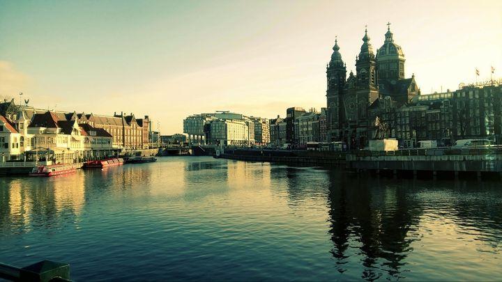 Nowy rok w Amsterdamie
