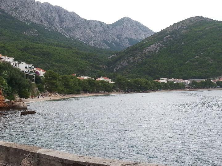 Plażing przy Górach ;)