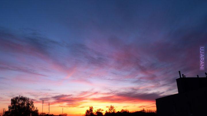 Zachód słońca po raz kolejny