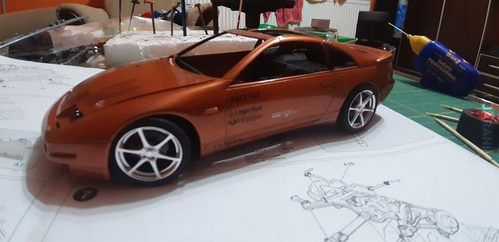 Nissan 300 zx c.d.