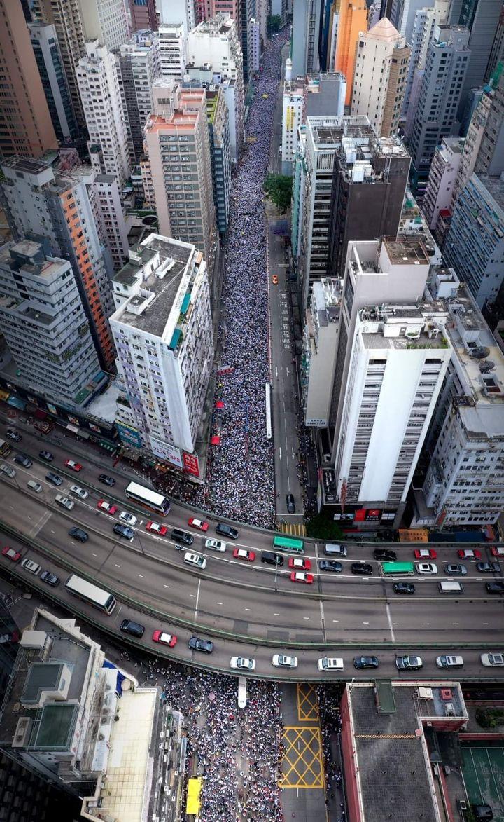 Protesty w Hong Kongu