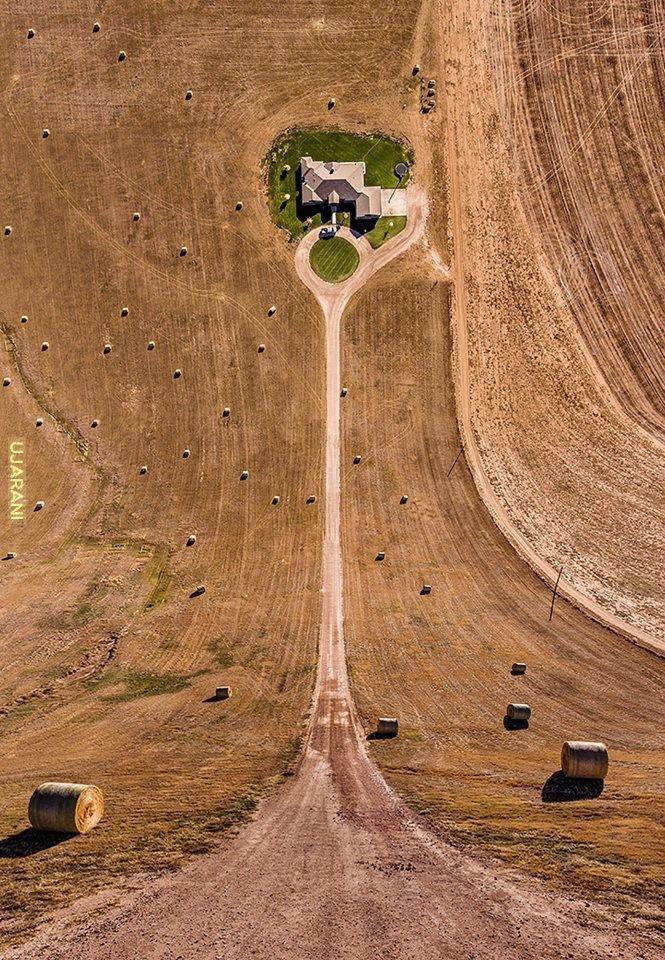 Ziemia jest wklęsła ;)
