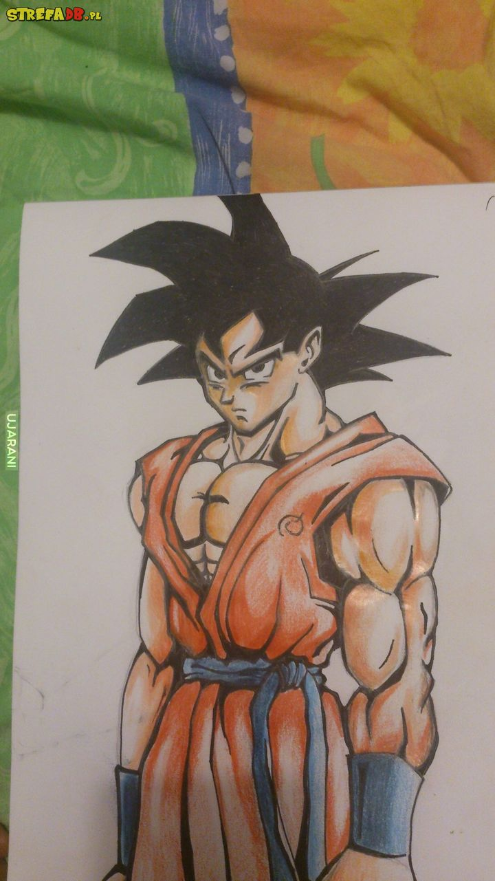 FanArt Dragon Ball - Goku