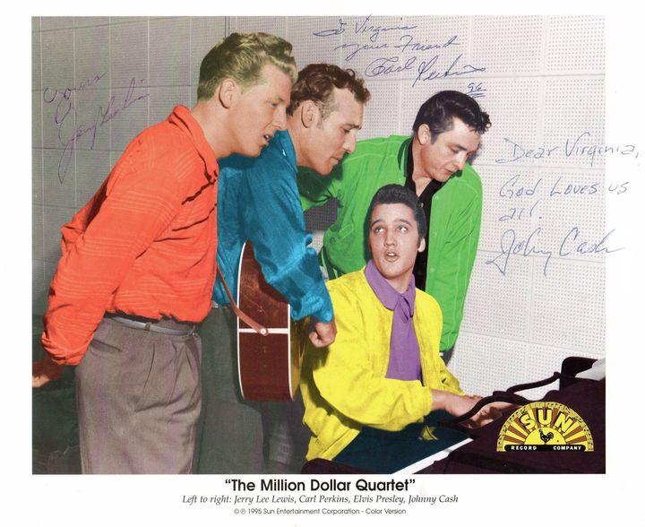 lvis, Johnny Cash, Jerry Lee Lewis oraz Carl Perkins