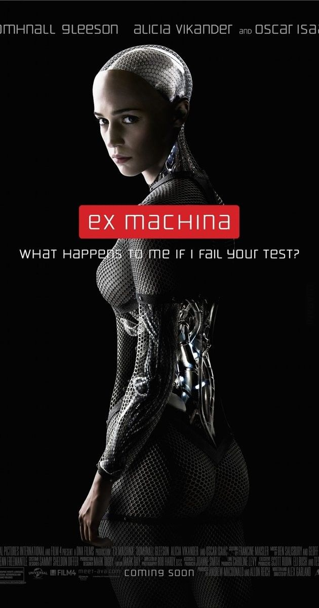 "Polecam film - ""Ex Machina"""